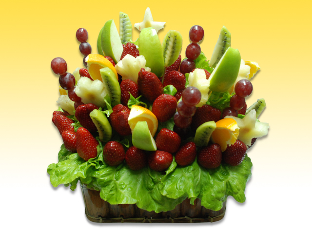 Meyve Sepeti  Renkli Bahar