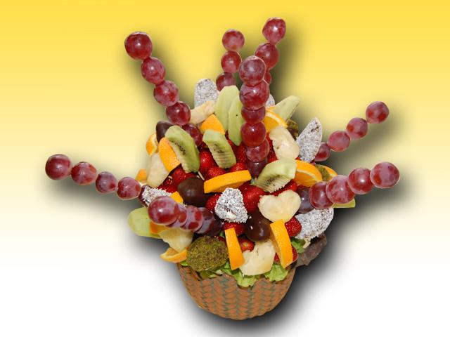 Meyve Sepeti  Sevgi Buketi