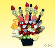 Tavus Kuşu Meyve Sepeti - Meyve Cicek Meyve Çiçeği Ürünün ayrıntılarını görmek için tıklayın !