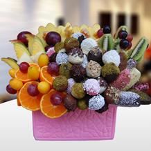 Meyve Sepeti - Meyve Cicek Kış Güzeli Meyve Çiçeği Ürünün ayrıntılarını görmek için tıklayın !